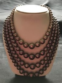 Beautiful necklace,  just one of much costume jewelry.
