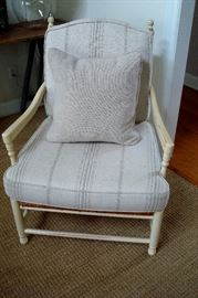 Arhaus arm chair.