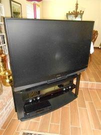 "mitsubishi 60"" HD 3D TV"