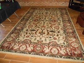 nice wool area rug