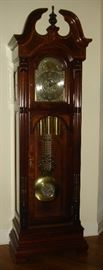 Retired Howard Miller grandfather clock