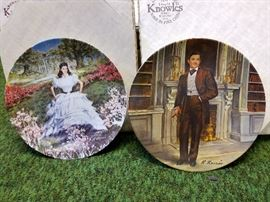 Collector Gone with the Wind Plates