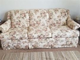 Beautiful Floral Sofa- was always kept covered