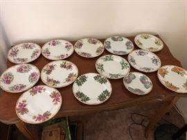 so many plates...