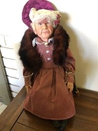 Our little Grandma doll - she's stearn, but loving and she's looking for a new home...