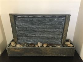 stone fountain to control humidity