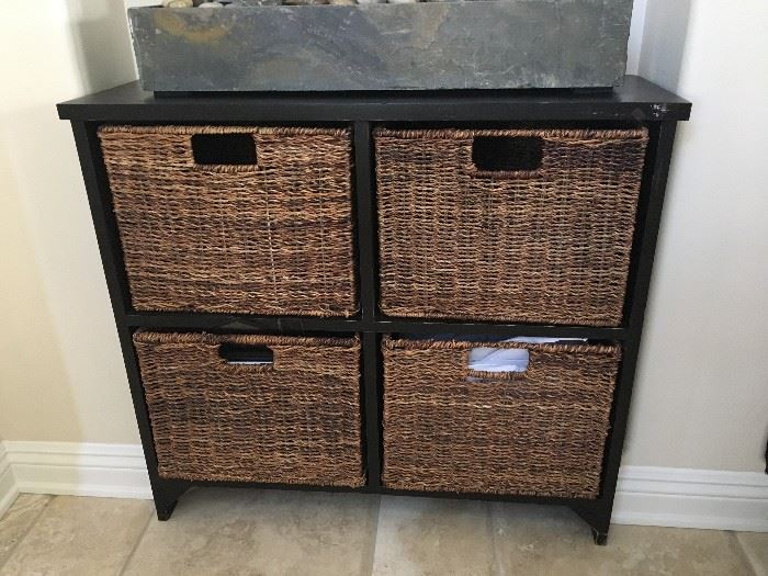 wick front drawer chest