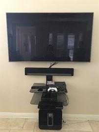 "65"" Samsung TV set with Sonos  sound system"