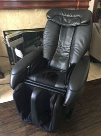 Panasonic leather Massage Chair. Excellent condition