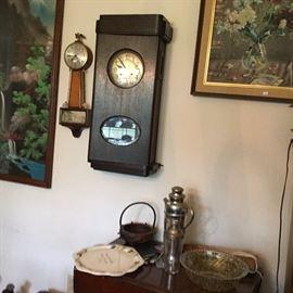 ''U''  Wall Clocks