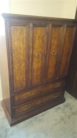 $40   Wood armoire