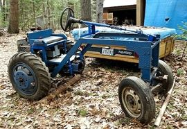"The Prof's ""Work In Progress"" Hand-Built Tractor W/ New 5-Hp. ""PREDATOR"" Gas Engine ..."