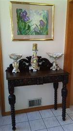 Capodimonte  Antique Table
