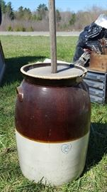 Butter churn that's been well loved