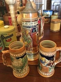 Beer stein from Germany