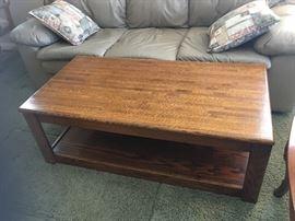 Oblong Oak Coffee table