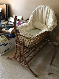 Vintage bassinet