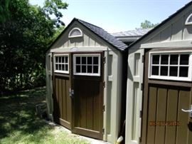Outdoor sheds.  Very good condition.