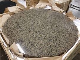 "36"" Diameter Round Granite Tabletop"