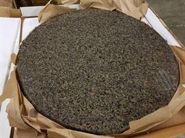 "30"" Diameter Round Granite Tabletop"