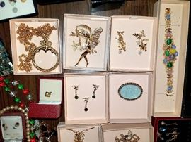 Costume jewelry. Lots of good quality treasures. Lots from QVC. Joan Rivers, Kirk and more