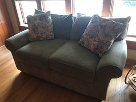 Walter E. Smithe loveseat and matching couch.