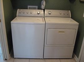 Matching Whirlpool Washer/Dryer...
