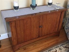Stickely media cabinet