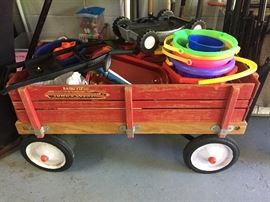 vintage radio flyer wagon