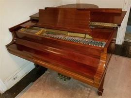 1934 Steinway model M Baby Grand Piano, Mahogany, 1 owner, orig bench included