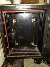 1st key lock cast iron interior door
