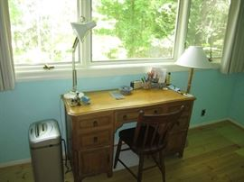 Small desk and chair