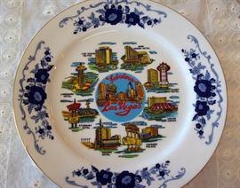 Fabulous Las Vegas Souvenir Plate