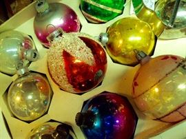 Assorted Vintage Christmas Ornaments, individual and boxed sets available
