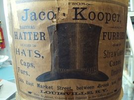 Antique Top Hat in Box