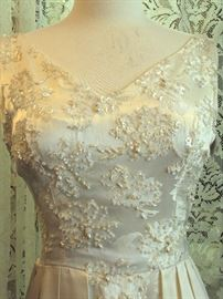 1960s Wedding Gown