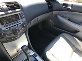 Interior is excellent condition. Car has been garaged since it was purchased new.