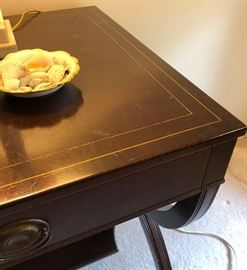 Detail of end table