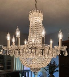 Schonbek 2621-40 Camelot 17 Light 24 inch Silver Chandelier Ceiling Light in Polished Silver - $1,000.