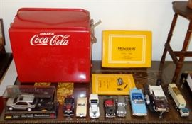 OLD COCA-COLA ADVERTISING COOLER