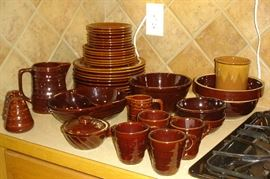 Brown stoneware