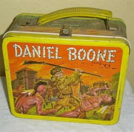 Daniel Boone lunch box