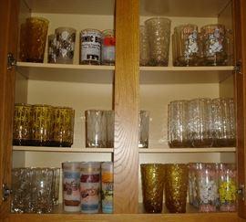 Vintage 1950's - 1970's glassware