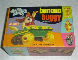 Banana Splits complete unassembled model kit