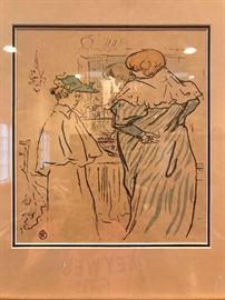 Toulouse-Lautrec artwork