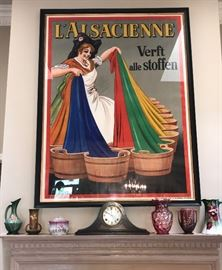 Late 19th c. French Art Poster