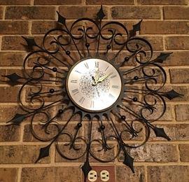 Elgin MCM wall clock
