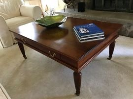 Costume made Cherry Coffee Table by the Amish
