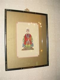One of the MANY pieces of art, original, prints, needlepoint. and more