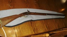 Rare 1850's Plains Rifle with hex barrel